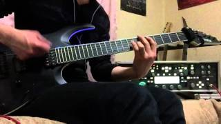 THE ORAL CIGARETTES / 狂乱 Hey Kids!! Guitar cover