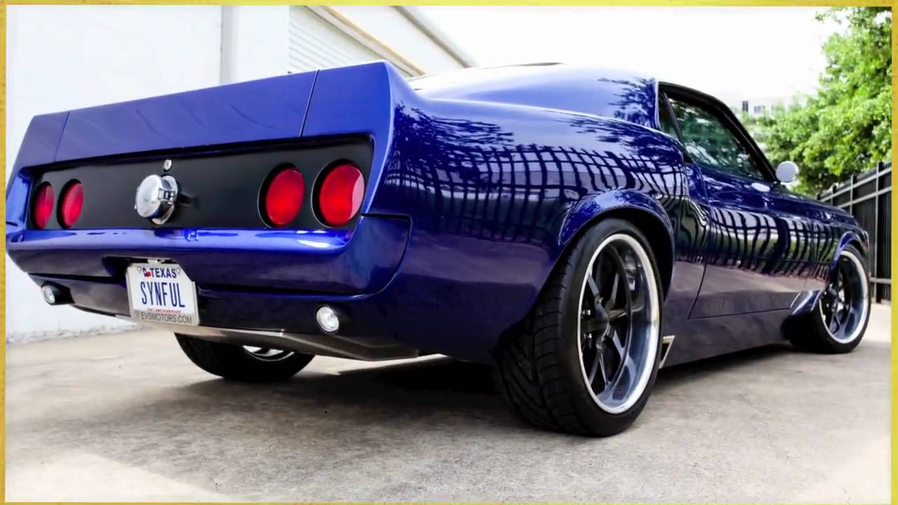 Evs Motors Synful 1970 Ford Mustang Youtube
