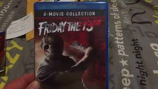 Friday the 13th 8 film set unboxing