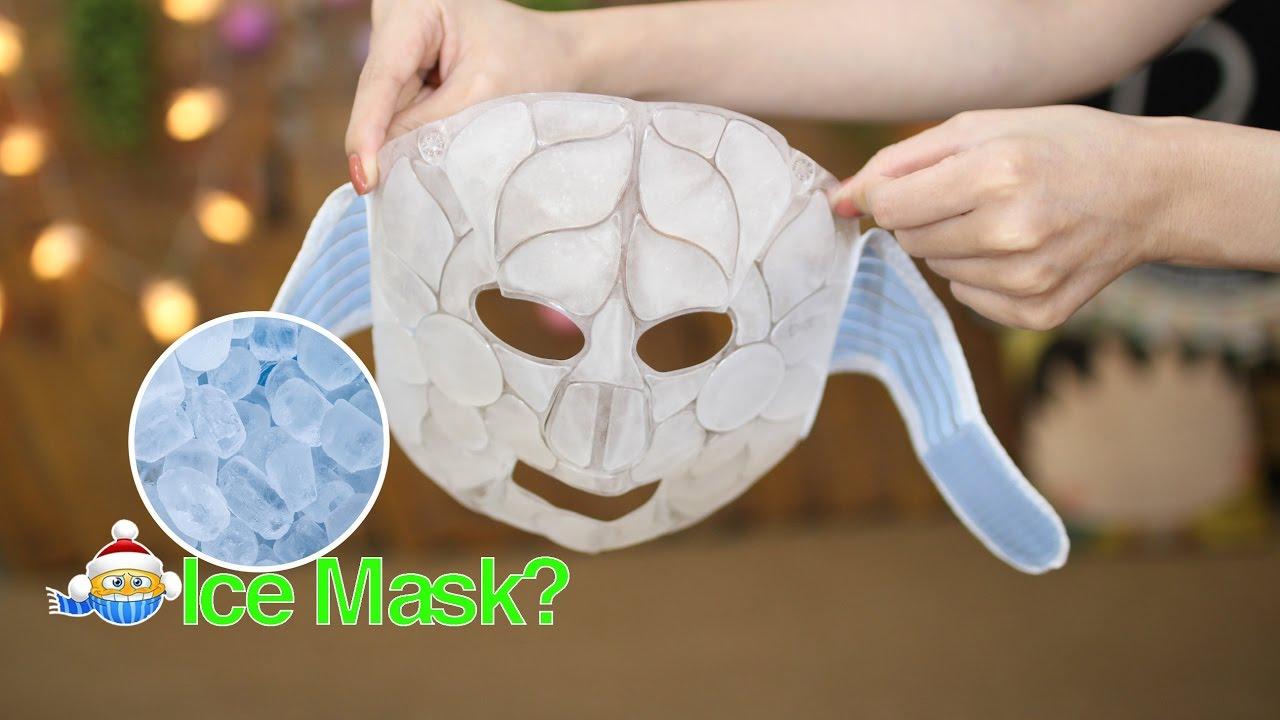 RƯ REVIEW ♡ MẶT NẠ ĐÁ LẠNH HÀN QUỐC DKCC – Ice Cooling Mask #Korea