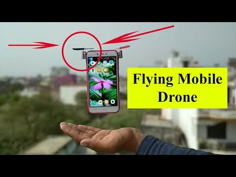 How to Make Mobile Drone (Super Easy)