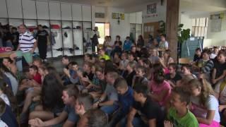 Vidámballagás a központi iskolában - 2016.06.15.
