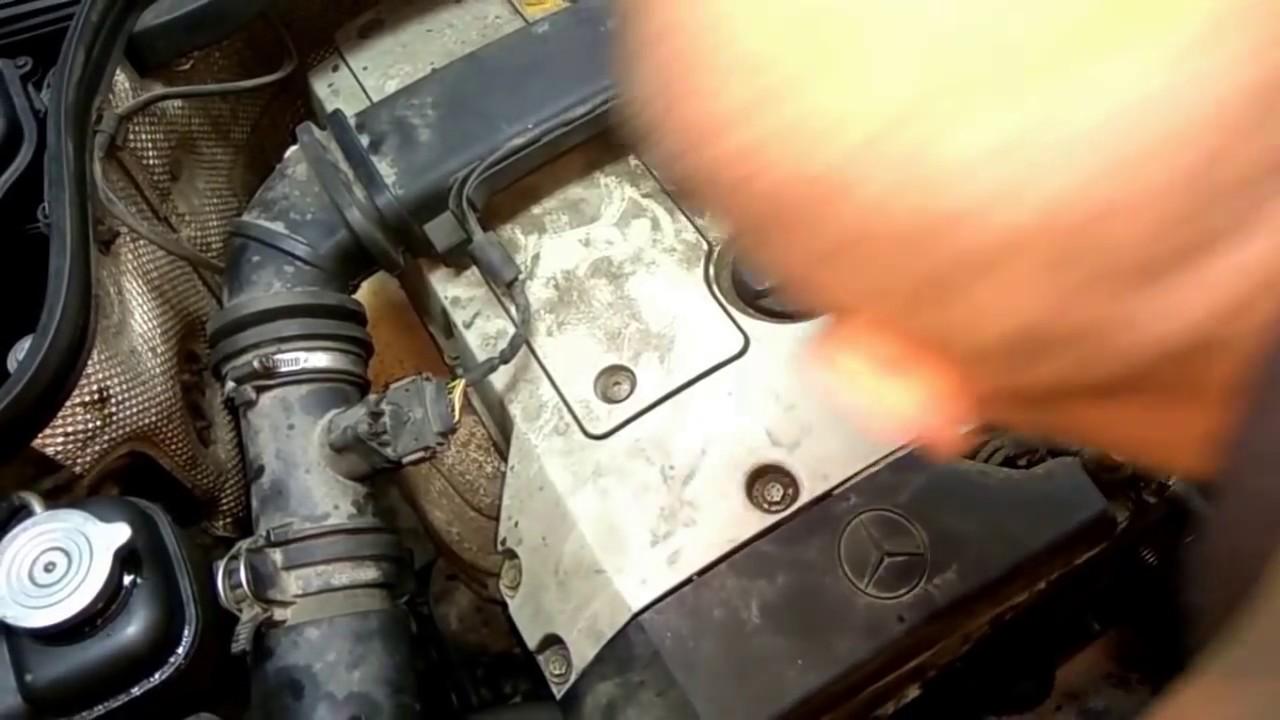 двигатель заводиться и глохнет мерседес е320 w124