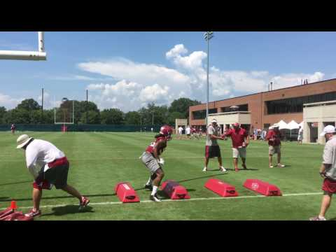 Alabama fall camp: Outside linebackers