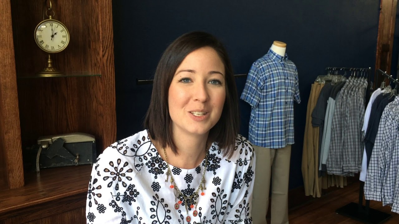 Owner Jen Claussen talks about her Swans clothing stores and Wayne, Neb