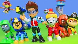 Paw Patrol Figuren Unboxing: Chase, Ryder, Skye, Rubble, Feuerwehrmann Marshall, Rocky & Zuma