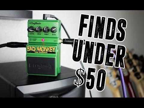 Finds Under $50 - Digitech Bad Monkey [Bass Demo]