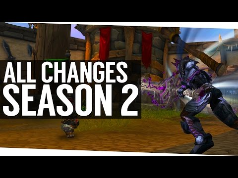 All PvP Changes for Season 2 - World of Warcraft Legion
