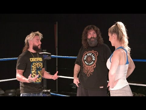 Enzo tells Noelle Foley she's nothing special on Holy Foley, on WWE Network