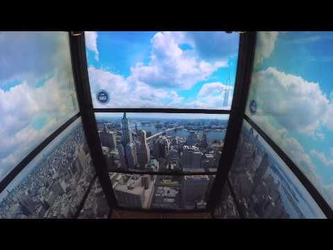World Trade Center Elevator - New York Timelapse