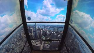 vuclip World Trade Center elevator video