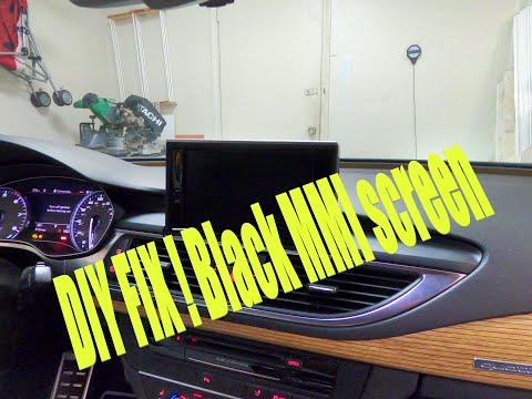 DIY fix black MMI screen AUDI A7/S7/ RS7