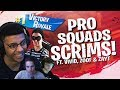 Download WINNING PRO SCRIMS WITH THE SQUAD! Ft. Vivid, Zoof & Zayt (Fortnite BR Full Match)