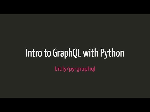 Intro to GraphQL with Python