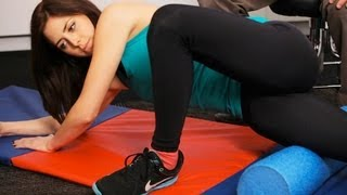 How to Use a Foam Roller for ITB Release | Knee Exercises