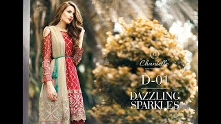 Barooque chiffon collection  2018 /top hit design/chiffon trendy dresses. Video