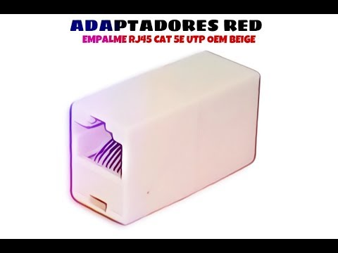 Video de Empalme RJ45 CAT5e UTP OEM  Beige