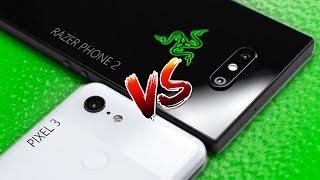 Pixel 3 vs Razer Phone 2 - Camera Comparison!