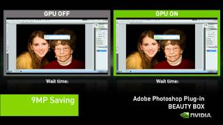 CUDA Accelerated Photoshop Plug in
