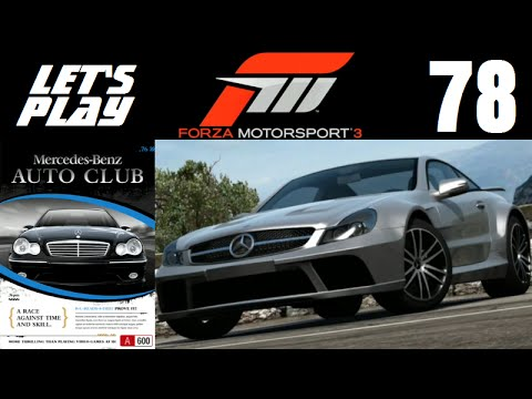 Let's Play Forza Motorsport 3 - Part 78 - Mercedes-Benz Owner's Club