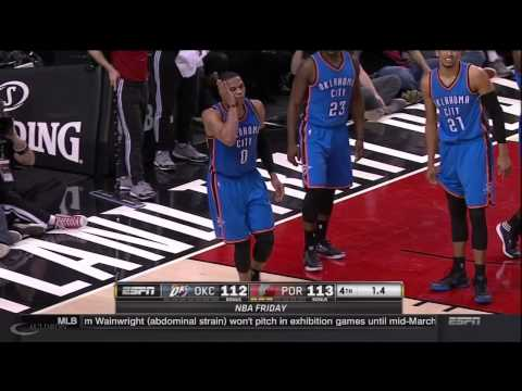 Russell Westbrook Blow To The Face