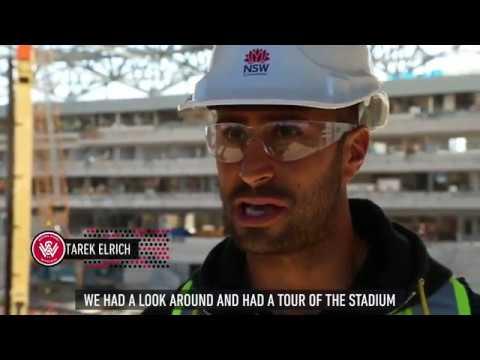 Wanderers visit Western Sydney Stadium
