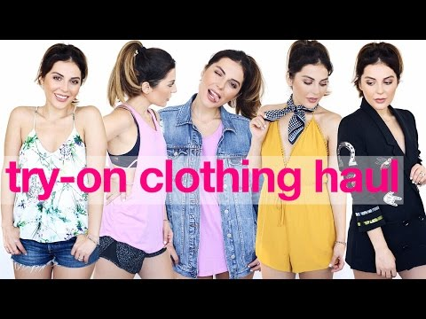 Back To School HUGE Try-On Clothing Haul I Forever 21 + More