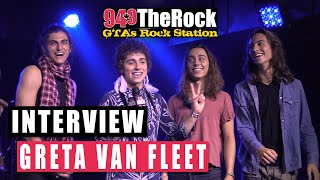 Greta Van Fleet on Their First Canadian Show, Detroit Music, Wanting To Play The Fox Theatre + More