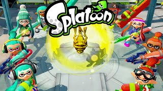 Splatoon Wii U Rainmaker Update! Splaturday Night LIVE Squad Battle Stream 2.0 Online Gameplay HD