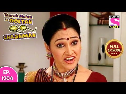 Taarak Mehta Ka Ooltah Chashmah - Full Episode 1204 - 14th August, 2018 thumbnail