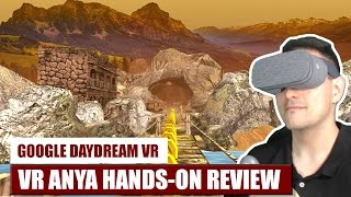 Free VR Endless Runner: VR Anya for Daydream VR Hands-On Review