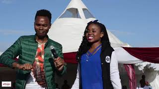 KASOLO DOES IT AGAIN AT A WEDDING IN NAIROBI.. WATCH THIS SMS SKIZA 7630022 TO 811