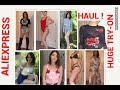 HUGE ALIEXPRESS INSTAGRAM BADDIE HAUL (try-on) | CHEAP AND AFFORDABLE FASHION NOVA JEANS
