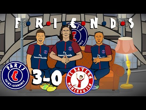 Thumbnail: ☕MCN are FRIENDS☕ PSG vs Bayern Munich 3-0 (Champions League 2017 Parody Goals and Highlights)
