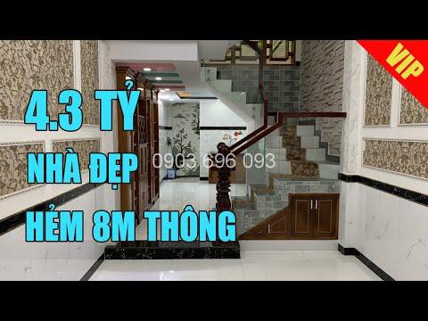 Bán nhà Tân Bình | Giá 4.3 tỷ, hẻm 8m thông, hướng Tây Bắc, đường Huỳnh Văn Nghệ, phường 15