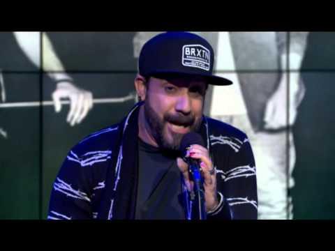 AJ McLean from Backstreet Boys performance on GDLA