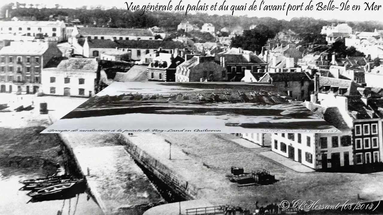 Bretagne photos et cartes postales anciennes - YouTube
