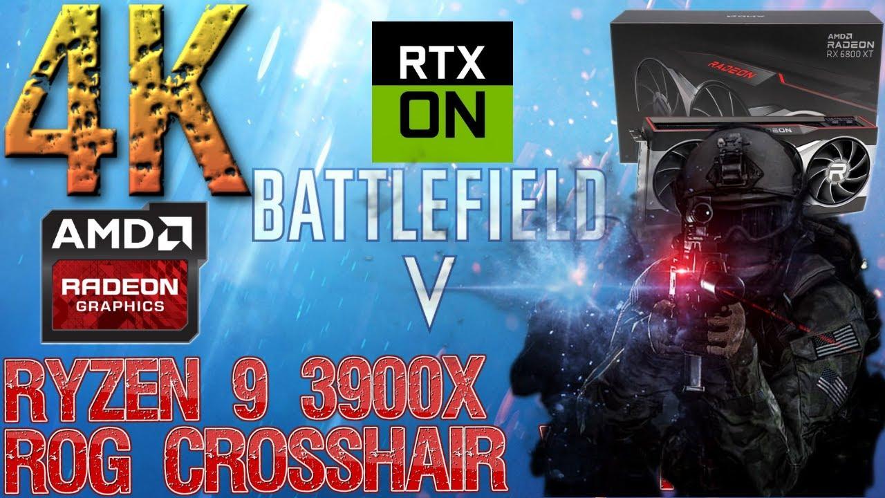 Download Battlefield 5 RAY TRACING ULTRA 4K SAM ON | RX 6800 XT OC | Ryzen 9 3900X