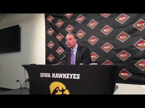 Jamie Dixon talks about Iowa