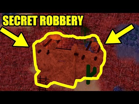 HOW to FIND and ROB the SECRET ROBBERY! | Roblox Prison Showdown