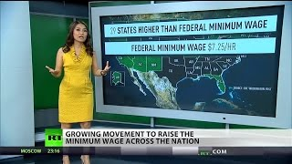 Fight for $15: States strive to raise minimum wage