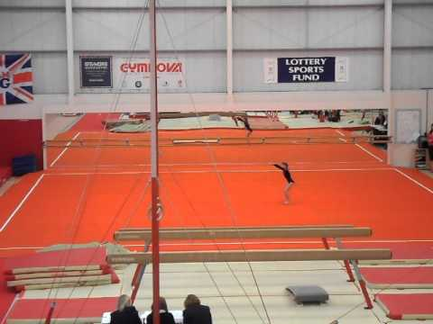 Nicole Dighton Floor Routine