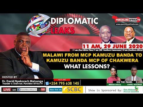 DIPLOMATIC LEAKS: Malawi From MCP Kamuzu Banda To Kamuzu Ban