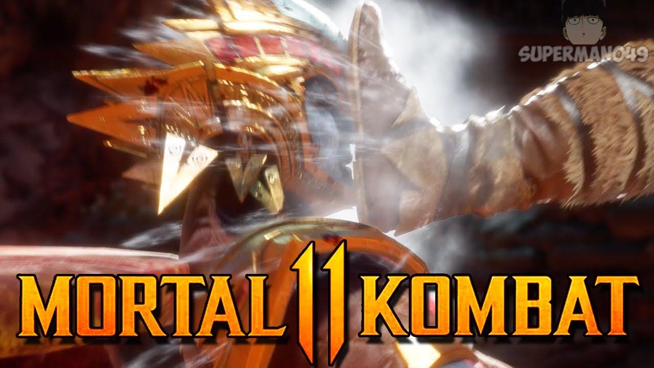 KOTAL TAKES OUT THE TRASH! - Mortal Kombat 11: Mirror Match Challenge #4