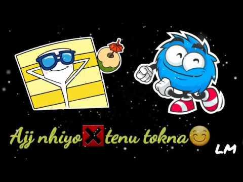 Bilal Saeed - Ja Jay Tu Jana   Lyrical Video   for Whatsapp Status   Lyrics Masti  
