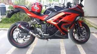Kawasaki Ninja 250 FI 2013 Scorpion Exhaust Full System