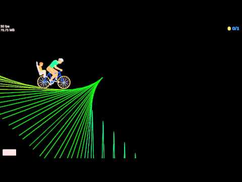 Happy Wheels Walkthrough : Episode 25 - NEON RAINBOW STAIRS
