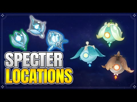 Specter Locations - Spectral Husk Farming route -【Genshin Impact】