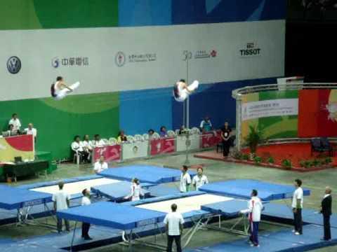 體操吊環 前水平動作 分解動作練習   Doovi