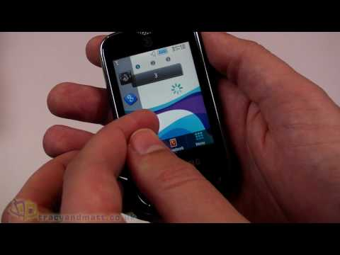 Samsung S3370 unboxing video